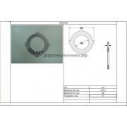 Диск фрикционный 3EA1511180 Komatsu