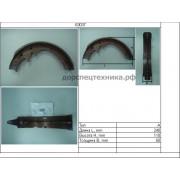 Колодка тормозная (1шт) 3EA3031150  Komatsu