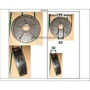 Колесо рулевое гидротележки BF (полиуретан)