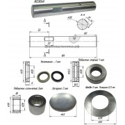 Ремкомплект бокового поворотного кулака (левый) 3EB2405130 KOMATSU
